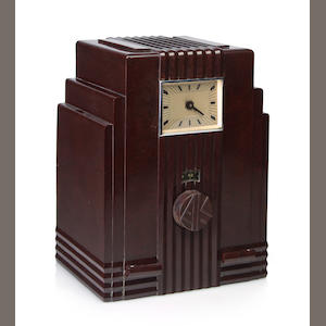 An Air King 52, brown clock. circa 1933