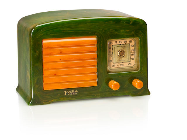 A Fada 52, emerald and yellow<BR />1938