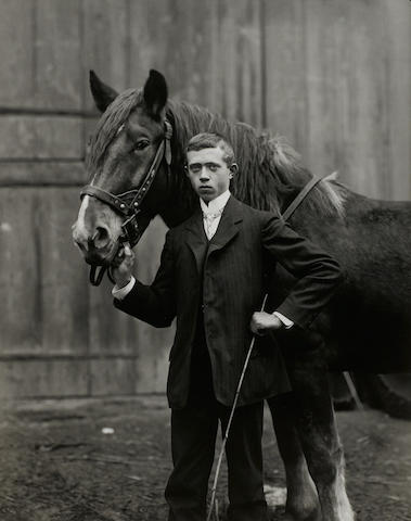 August Sander, Young Farmer, 1912/1913, Silver gelatin print, Edition 1/12, ASA 3/1/1477