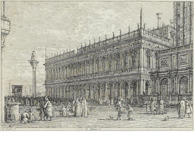 Antonio Canal, called il Canaletto (1697-1768); La Libreria V;