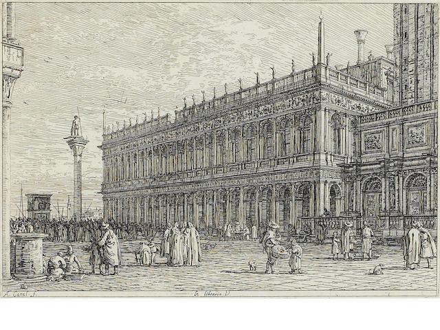 Antonio Canal, called il Canaletto (1697-1768); La Libreria V;