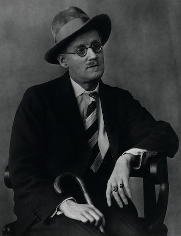 Berenice Abbott (1898-1991); James Joyce;