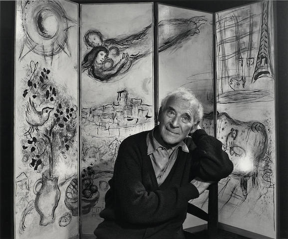 Yousuf Karsh (1908-2002); Marc Chagall;