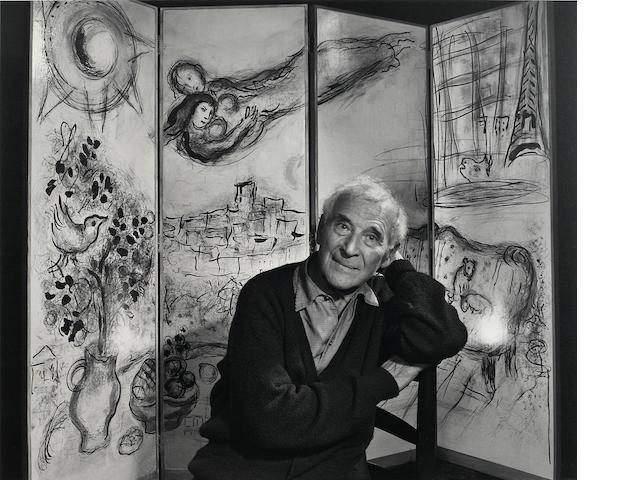 Yousuf Karsh (1908-2002); Marc Chagall;
