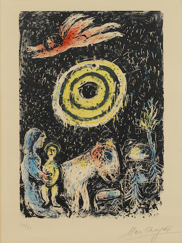 Marc Chagall (1887-1985); Winter Sun ;