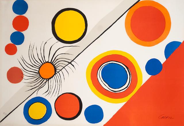 Alexander Calder (1898-1976); Spider's Nest;