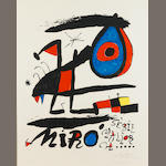 Joan Miró (1893-1983); Poster for the exhibition 'Sèrie Mallorca';