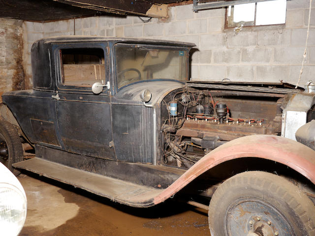 Delivered new to New Zealand, ex-Nathan Clark,1929 Packard Model 640 Rumble Seat Coupe  Chassis no. 175909