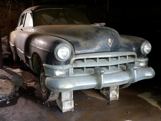 Purchased by Nathan Clark in 1951,1949 Cadillac Series 62 Sedan  Chassis no. 496208006