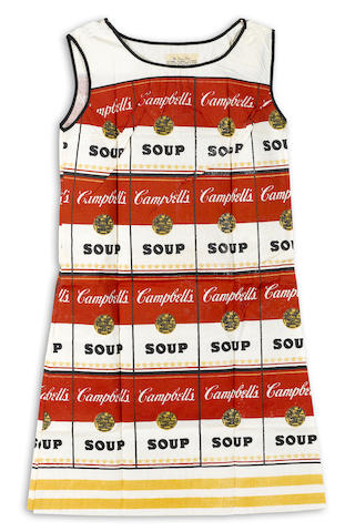 After Andy Warhol (1928-1987); Souper Dress;