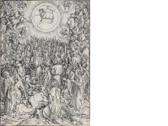 Albrecht Dürer (1471-1528); The Adoration of the Lamb, from The Apocalypse;