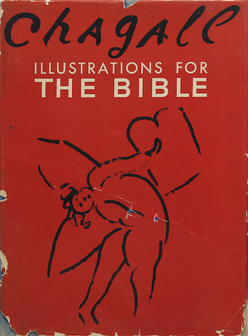 CHAGALL, MARC. 1887-1985. Illustrations for the Bible. New York: Harcourt, Brace and Company, [1956].