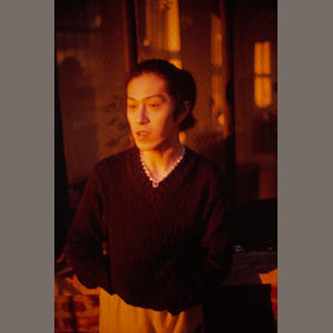 Nan Goldin (born 1953); Inoue in My Apartment, NYC;