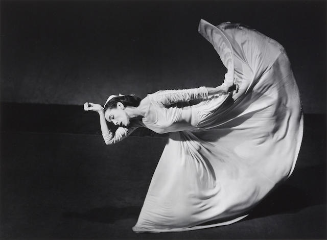 Barbara Morgan (1900-1992); Martha Graham-Letter to the World (Kick);