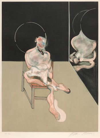 Francis Bacon (1909-1992); Seated Figure;