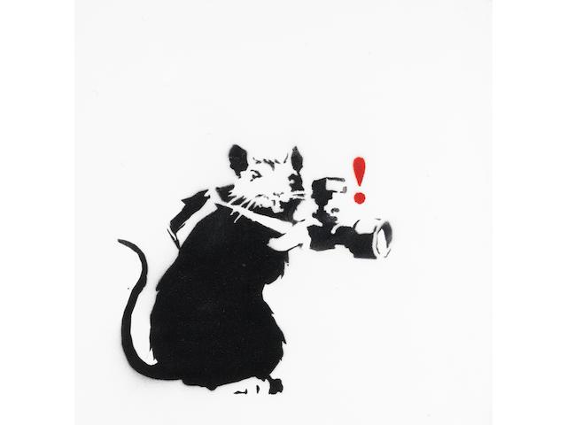 Banksy, 'Paparazzi Rat'