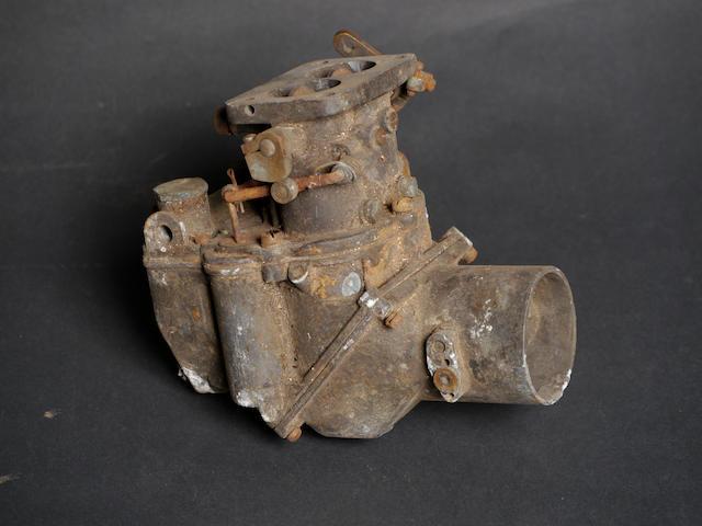 A Stromberg UU2 carburetor,