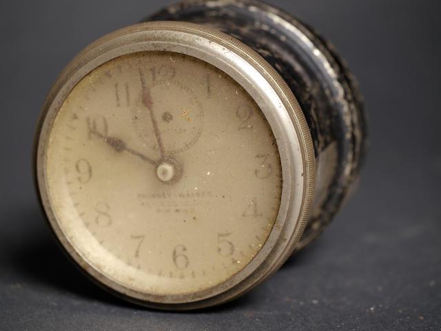 A Phinny-Walker keyless rewind clock,