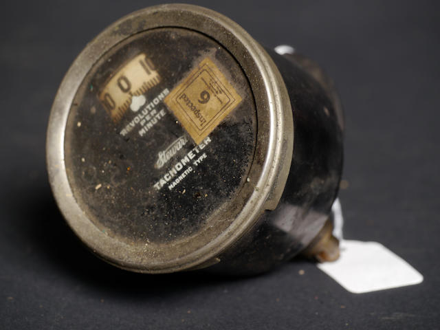 An extreamly rare new old stock Stewart magnetic-type tachometer,