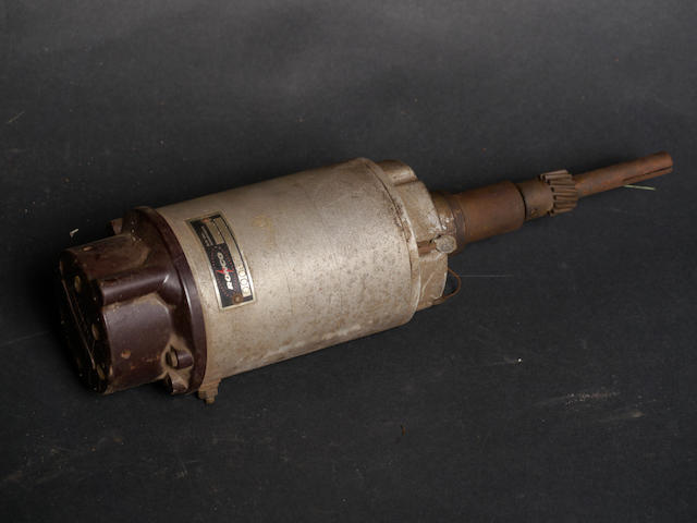 A Vertex six-cylinder magneto,