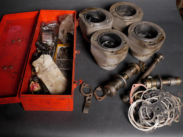 "A good quantity of Porsche ""four-cam"" Carrera engine spares,"