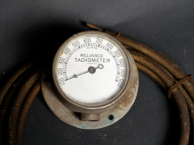 A good, early Reliance tachometer,