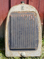 An original duPont radiator,