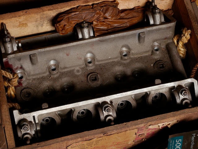 A new old stock Alfa Romeo cylinder head,