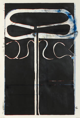 Richard Diebenkorn (1922-1993); Untitled (from Club/Spade Group '81-82), from Eight by Eight to Celebrate the Temporary Contemporary;