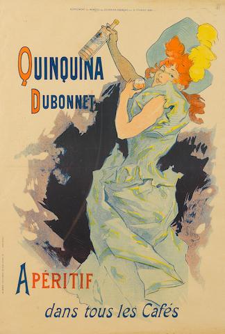 Jules Chéret (1836-1932); Quinquina Dubonnet;