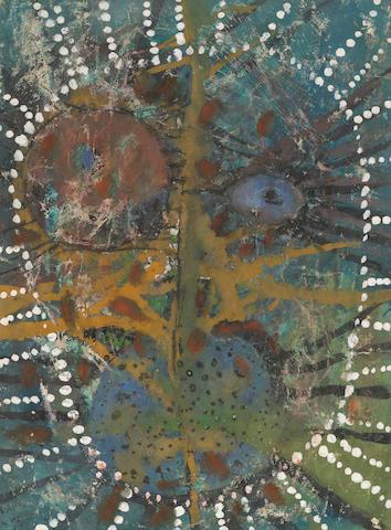Yayoi Kusama (born 1929) Untitled, 1953 10 1/2 x 8in. (26.6 x 20.3cm)