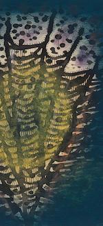 Yayoi Kusama (born 1929) Display Fireworks, 1952 9 3/4 x 7in. (24.8 x 17.8cm)
