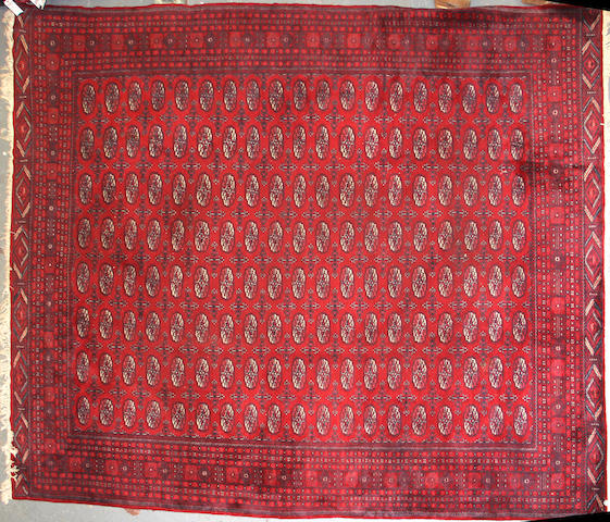 A Pakistani carpet size approximately 10ft. 5in x 12ft. 8in.