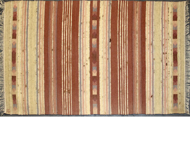 A Hungarian kilim size approximately 4ft. x 6ft.