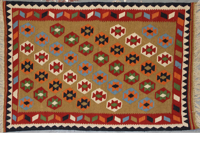 A Kilim size approximately 3ft. x 5ft.
