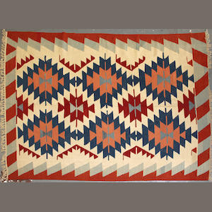 A Kilim size approximately 6ft. x 8ft. 6in.
