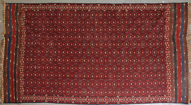A kilim size approximately 6ft. 3in. x 11ft. 9in.
