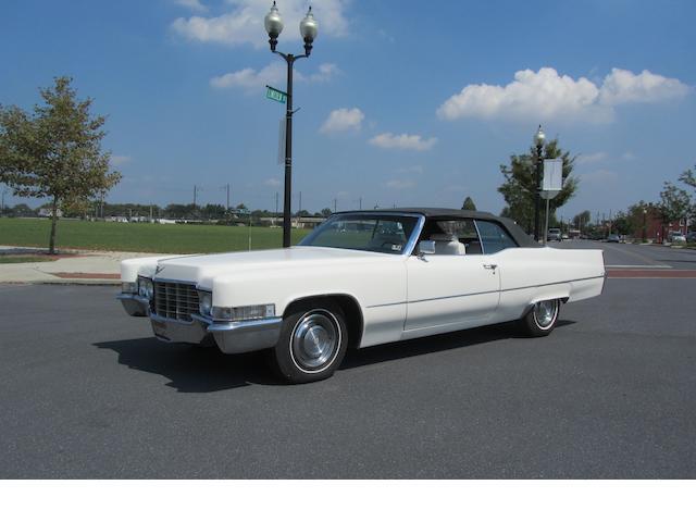 1968 Cadillac Eldorado Convertible  Chassis no. F9133253