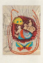 Salvador Dalí (1904-1989); Papillons Anciennes;