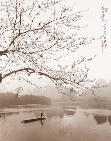 Don Hong-Oai (1929-2004); Spring on the River Li, Guilin, China????;