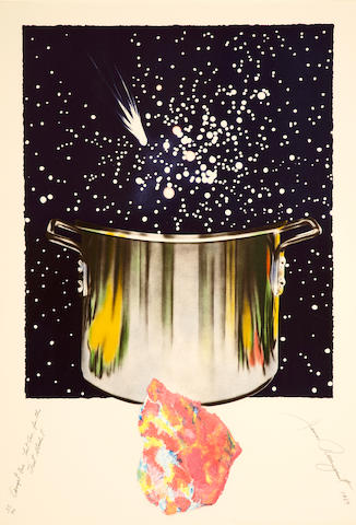 James Rosenquist (born 1933); Caught One, Lost One, For the Fast Student;