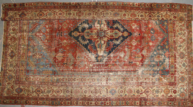 A Serapi carpet size approximately 12ft. x 15ft.