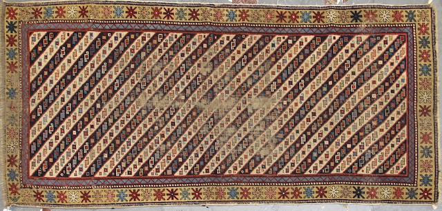 A Shirvan rug size approximately 2ft. 11in. x 6ft. 7in.