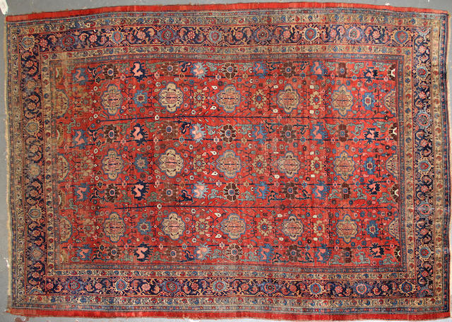 A Bidjar carpet  size approximately 8ft. x 11ft. 7in.