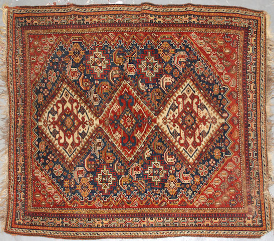 A Qashq'ai rug  size approximately 4ft. 5in. x 6ft.
