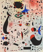 Joan Miró (1893-1983); André Breton, Constellations;