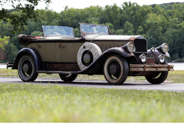 1929 Pierce-Arrow Dual Cowl Phaeton  Chassis no. 2005467