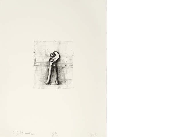 Jim Dine (born 1935); Ten Winter Tools;