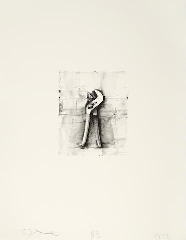 Jim Dine (born 1935); Ten Winter Tools;