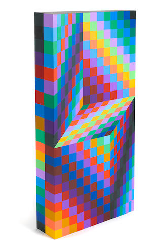 Victor Vasarely (1906-1997); AXO 99;